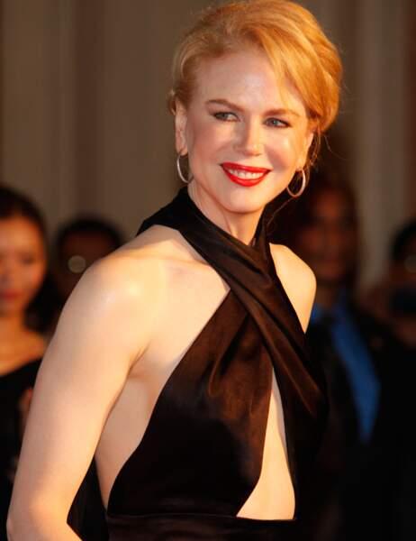 Pour porter ce genre de décolleté, il faut s'appeler Nicole Kidman