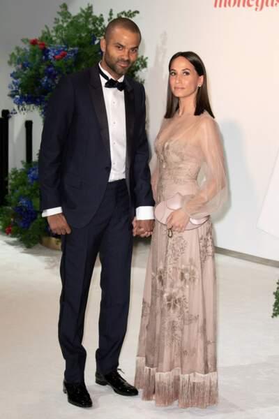 Tony Parker et sa compagne, Axelle Francine