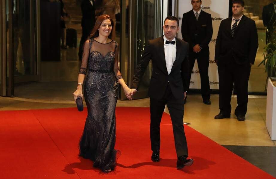 Xavi Hernandez et sa femme Nuria Cunillera