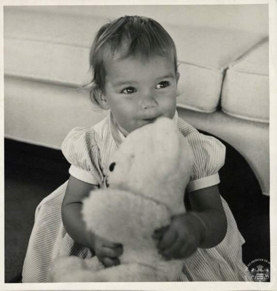La princesse Stéphanie