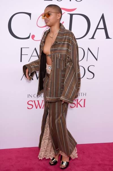 CFDA Fashion Awards : mais n'est pas restée très longtemps
