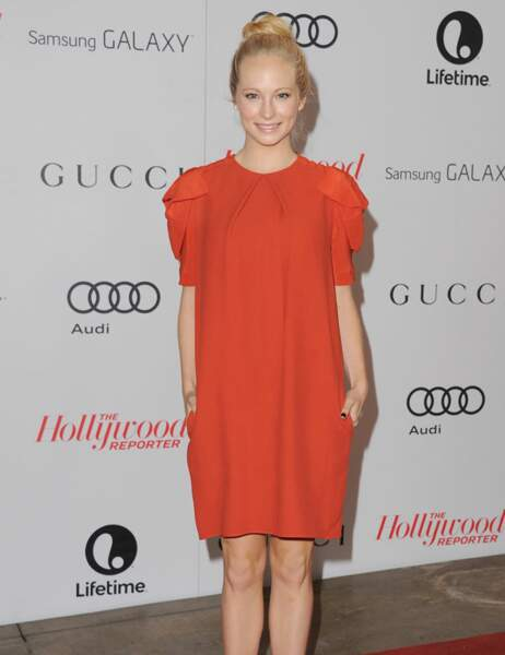 Candice Accola, actrice de la série Vampire Diaries