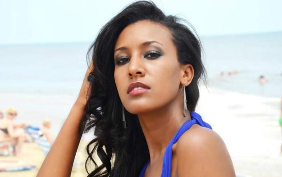 Miss Ethiopie Genet Tesgay Tesfay, 22 ans, 1m76