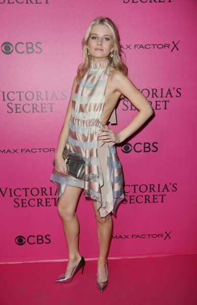 Défilé Victoria's Secret : Lottie Moss, la petite soeur de Kate Moss en Fendi
