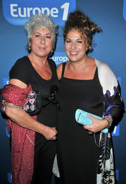Marianne James et sa soeur Pascale dite Scaly