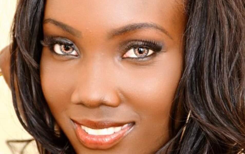 Miss Guyane Ruqayyah Boyer, 23 ans, 1m75