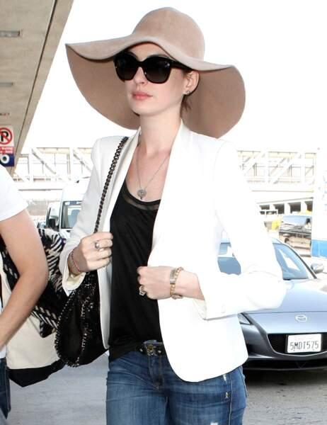 9ème place : Anne Hathaway