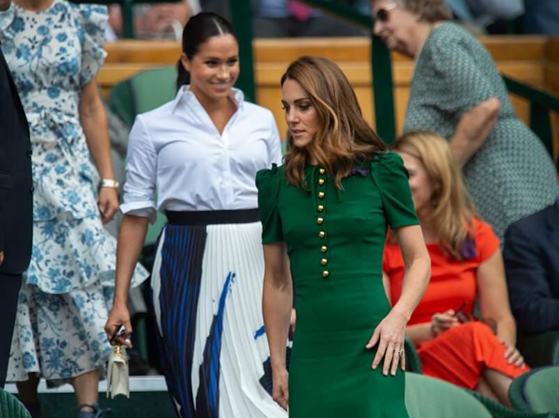 Les deux duchesses dans deux styles différents et très mode