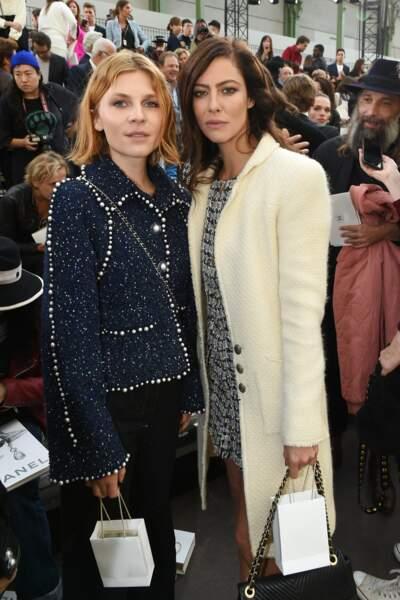 Clémence Poésy et Anna Mouglalis