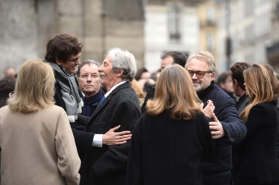 De nombreuses célébrités aux obsèques de Danièle Delorme