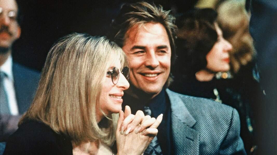 Juillet 1988: Barbra Steisand et Don Johnson tombent brièvement amoureux