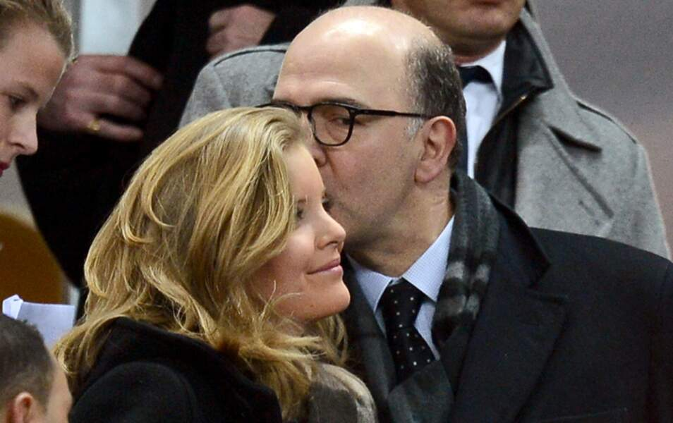 Pierre Moscovici et Marie-Charline