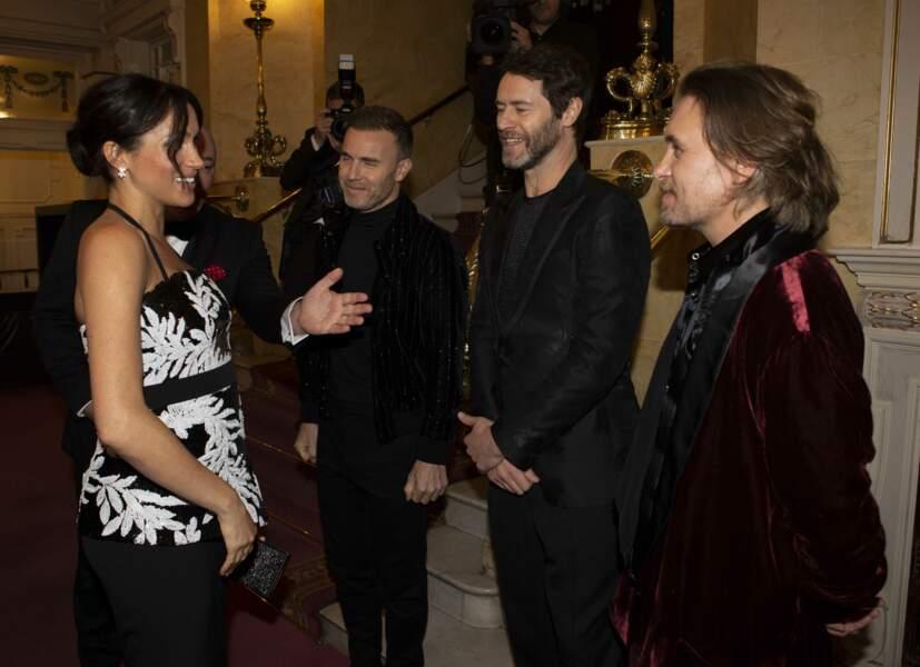 Gary Barlow, Howard Donald et Mark Owen des Take That étaient présents, mais pas Robbie Williams !