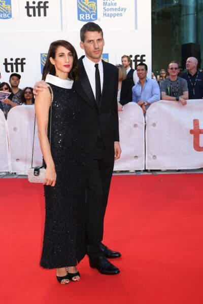 Red carpet de Kings à Toronto - Deniz Gamze Ergüven et son mari