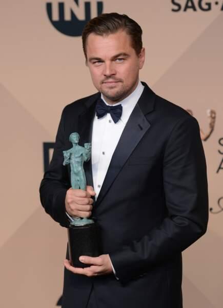 Meilleur acteur : Leonardo DiCaprio
