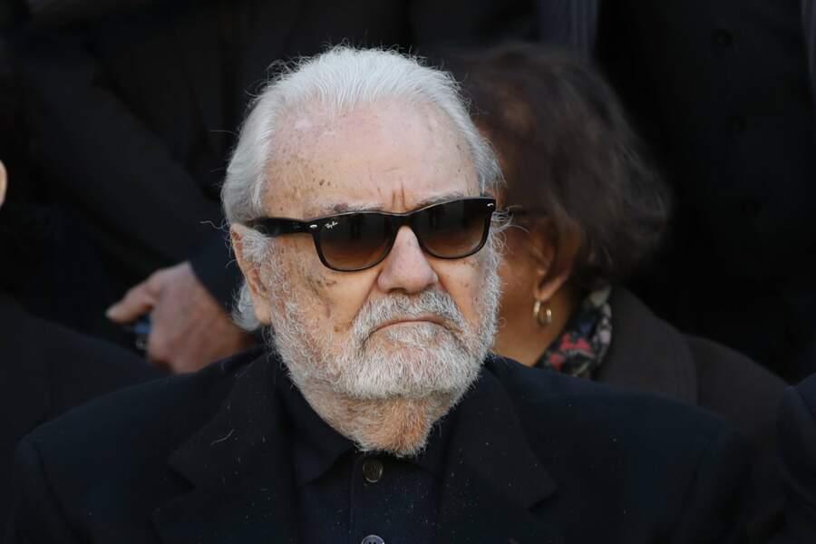 Jean-Jacques Debout à l'hommage national à Charles Aznavour