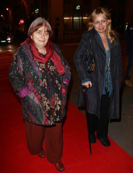 Agnès Varda et sa fille Rosalie