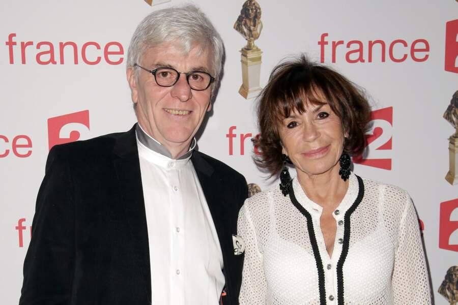 Danièle Evenou est venue avec Jean-Pierre Baiesi