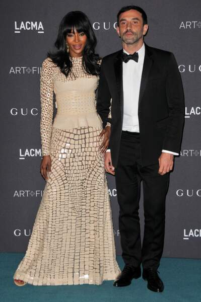 Naomi Campbell en Givenchy et Riccardo Tisci