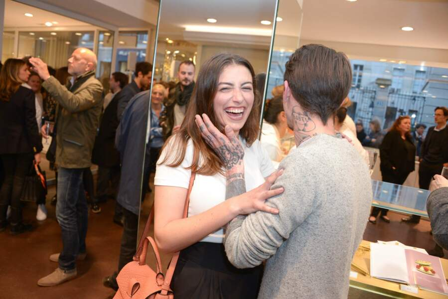 Paloma Coquant et Guillaume Sanchez s'entendent vraiment très bien !