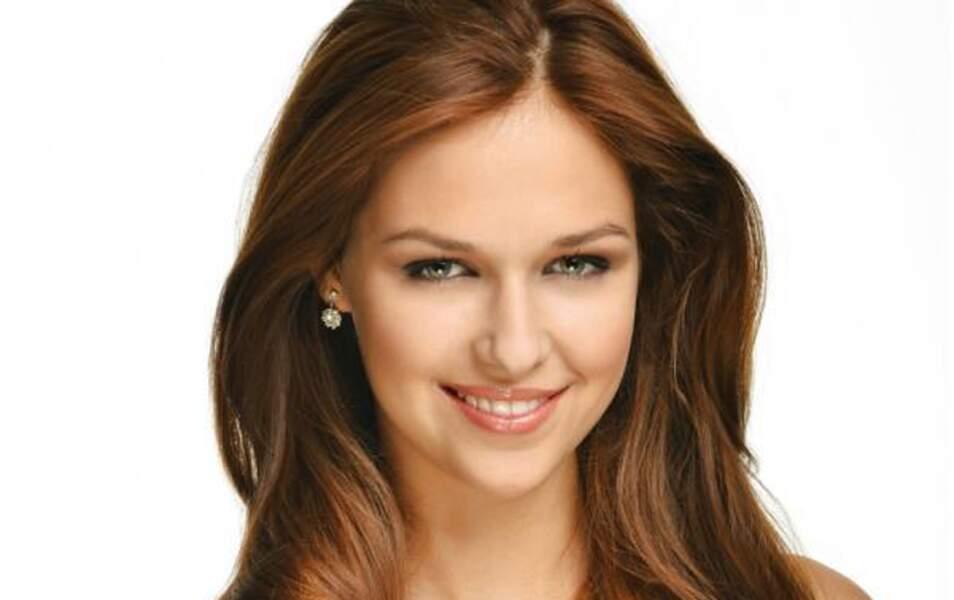 Miss République Tchèque Lucie Kovandova, 19 ans, 1m70