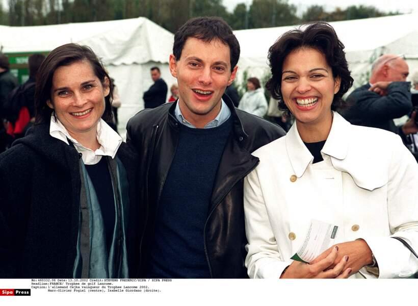 Isabelle Giordano dans les années 90
