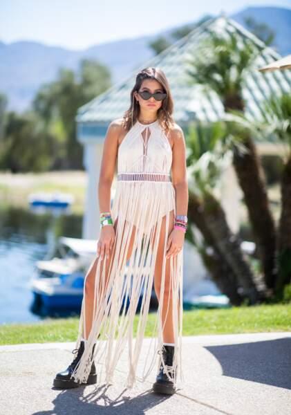 Les pires looks de la première semaine de Coachella : Natalia Zapata