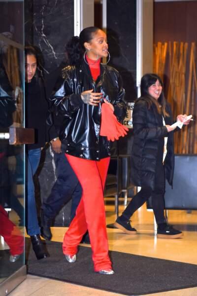 Rihanna et son look de mamie 80's