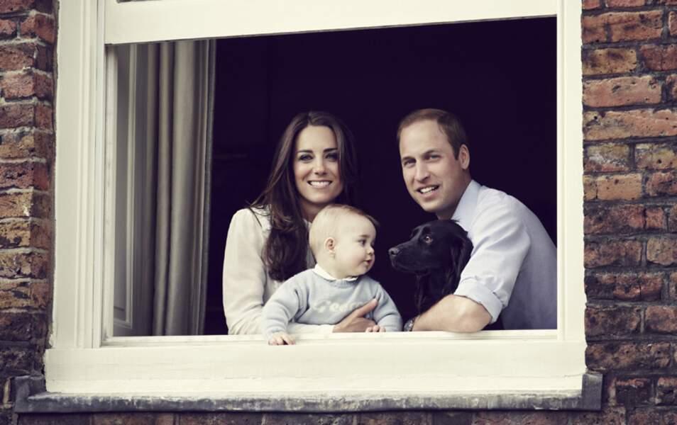 En mars 2014, le prince George a déjà bien grandi !