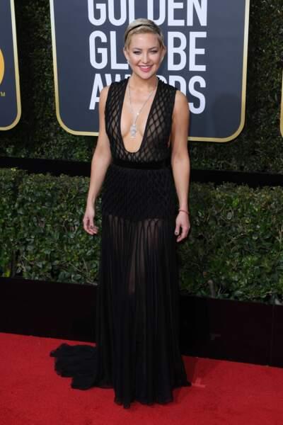 Kate Hudson lors de la 75e cérémonie des Golden Globes, le 7 janvier 2018