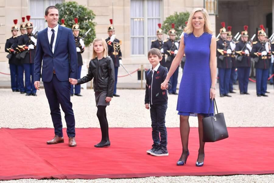 Laurence Auzière en famille