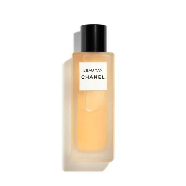 L'eau tan, eau fraîche corps hâle progressif, Chanel, 56€