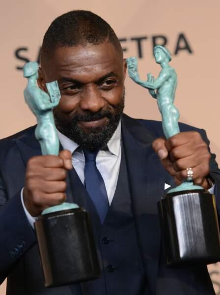 Meilleur acteur dans un second rôle et meilleur acteur dans une série : Idris Elba