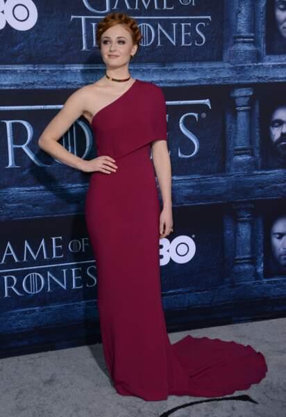 Sophie Turner (Sansa Stark de Game of Thrones)