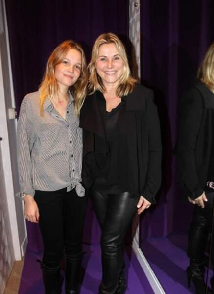 Sophie Favier et Carla-Marie
