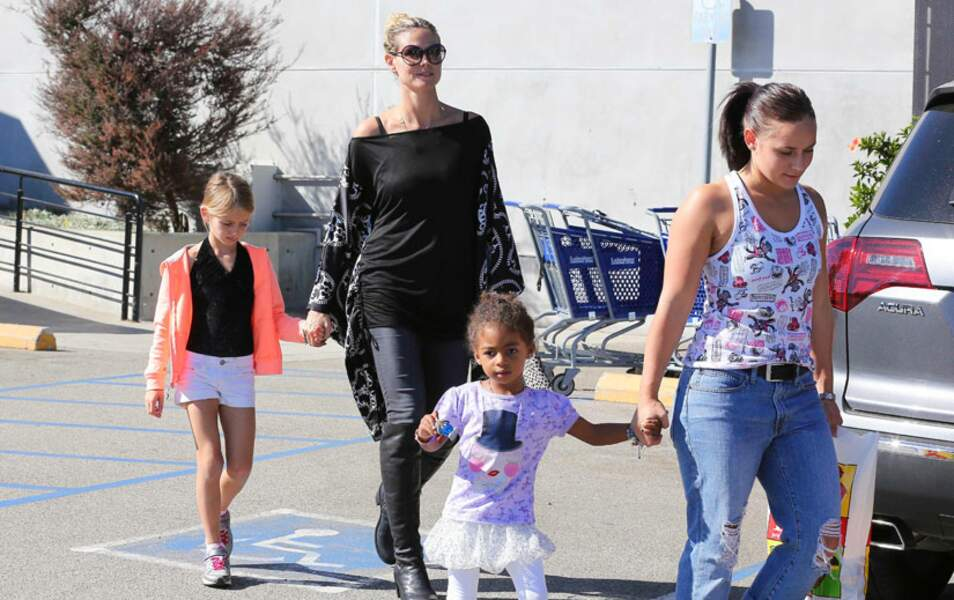 Heidi Klum et ses enfants