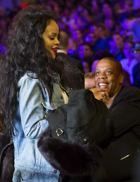 Rihanna retrouve son mentor Jay-Z