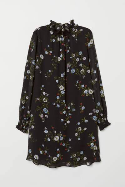 Robe smockée, H&M, 29,99€