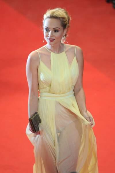 Festival de Cannes, les accidents de tenue les plus sexy - Beatrice Rosen et sa culotte