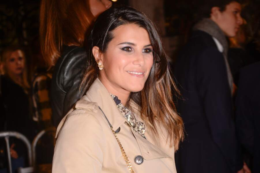 Karine Ferri ravie de l'arrivée de sa fille Claudia