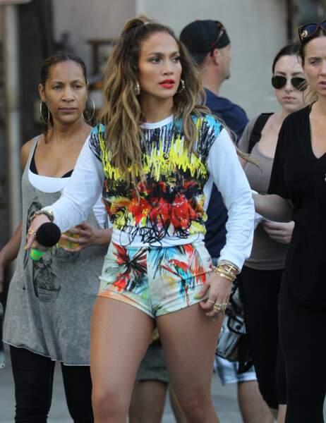 """Jennifer Lopez sur le tournage de """"We Are One"""" en Floride"""