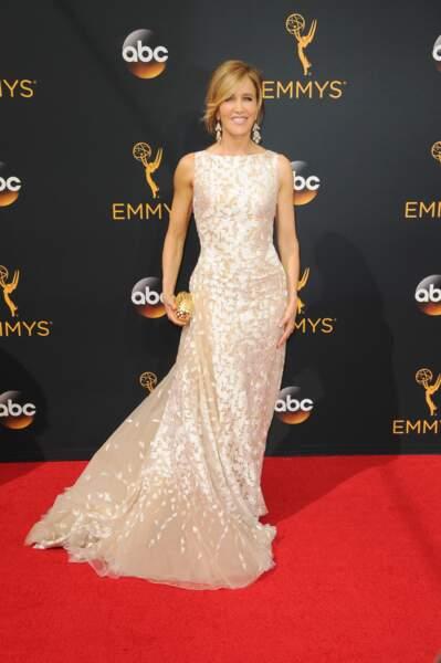 Emmy Awards 2016 : Felicity Huffman (Desperate Housewives) en Tony Ward