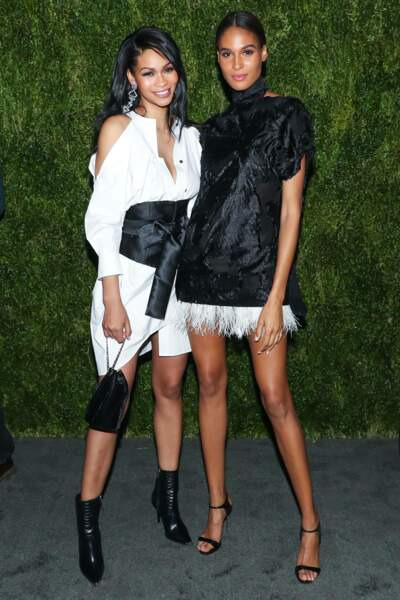 Chanel Iman et Cindy Bruna