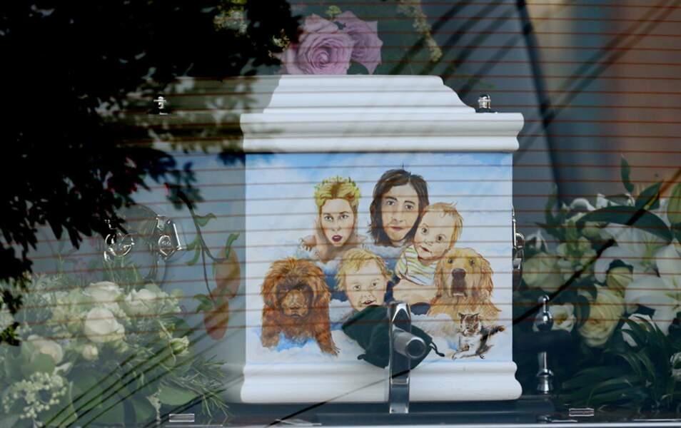 Le cercueil de Peaches Geldof