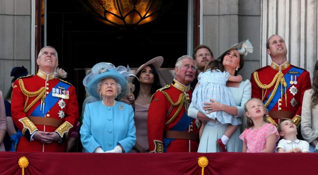 Kate Middleton essaie de profiter quand même du spectacle