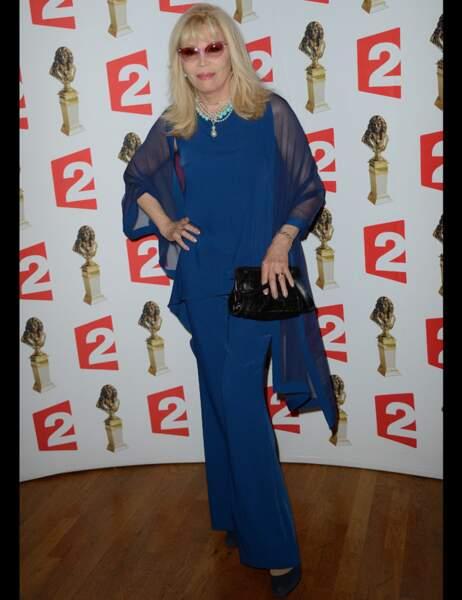 La comédienne Amanda Lear