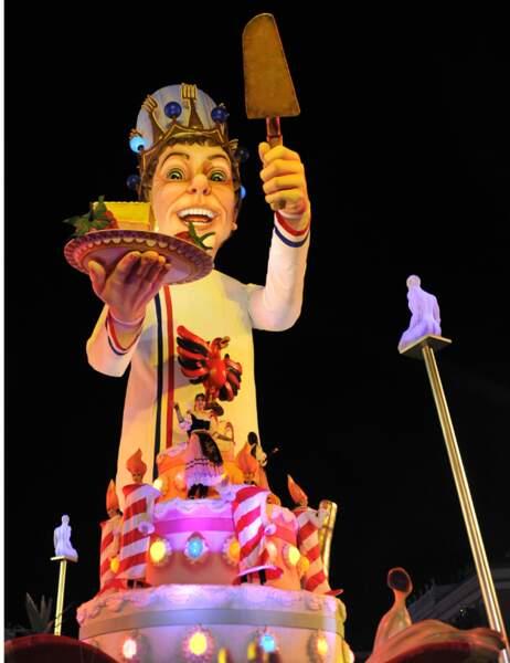 Le char vedette du Carnaval de Nice