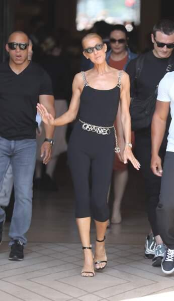 Celine Dion en tenue Chanel