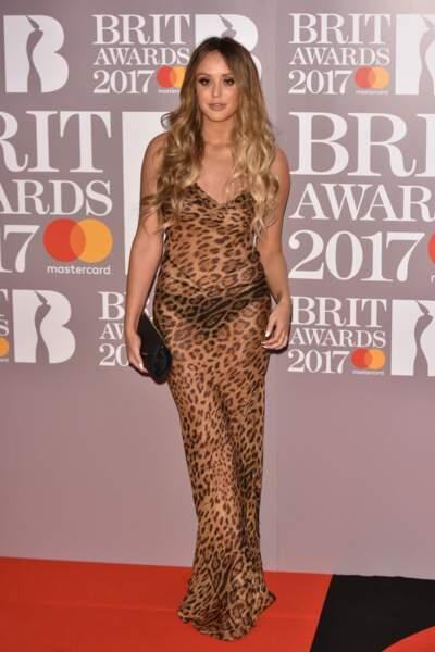 Brit Awards 2017 : Charlotte Crosby