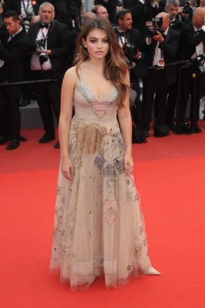 Festival de Cannes 2017 : Thylane Blondeau